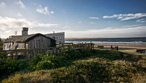 Abandoned House on the beach Cabo Polonio by Diana C. Bernardi