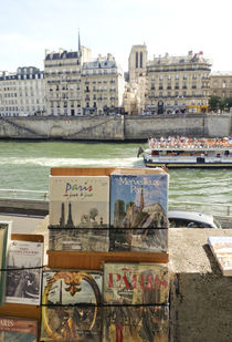 Books on the Seine von Perry  van Munster