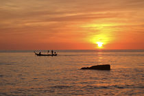 Sunset Ko Lanta, Thailand von Perry  van Munster