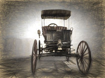 1898 2 Cylinder Car by Perry  van Munster