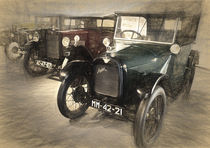 1930 Austin Seven and a 1929 Morris Minor 1930 by Perry  van Munster