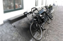bike on wall Maastricht by Diana C. Bernardi