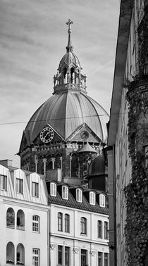 Munich Church Roof by Diana C. Bernardi