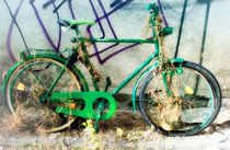 Old bikes out of order by Diana C. Bernardi