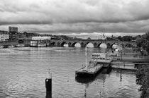 Habour Maastricht cloudy von Diana C. Bernardi
