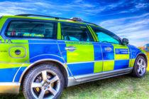 Metropolitan Police Car von David Pyatt