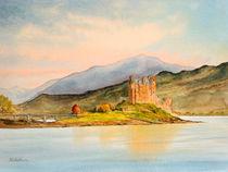 Tranquil Eilean Donan Castle Scotland by bill holkham