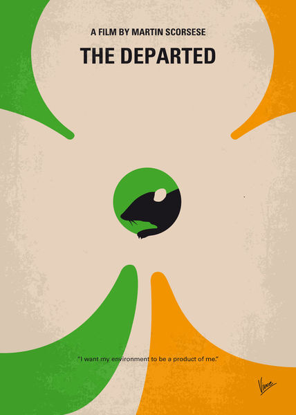 No506-my-the-departed-minimal-movie-poster