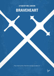 No507-my-braveheart-minimal-movie-poster