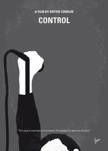 No508 My CONTROLE minimal movie poster by chungkong