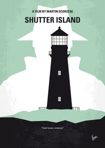 No513 My Shutter Island minimal movie poster by chungkong