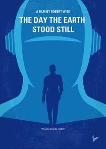 No514 My The Day the Earth Stood Still minimal movie poster by chungkong