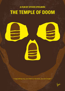 No517 My The temple of doom minimal movie poster by chungkong