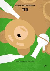 No519 My TED minimal movie poster by chungkong