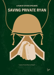 No520 My Saving Private Ryan minimal movie poster by chungkong