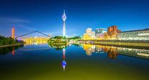 Düsseldorfer Rheinturm von photoart-hartmann