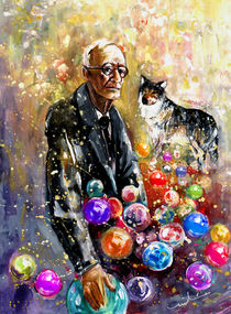 Hermann Hesse by Miki de Goodaboom