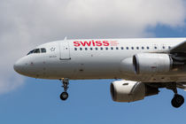 Swiss Airlines Airbus A320 von David Pyatt