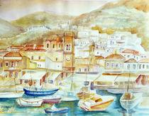 Im Hafen von Hydra ( Griechenland ) von Irina Usova