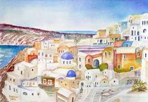 Santorini von Irina Usova