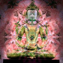 Buddha floral von Thomas  Bode