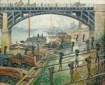 Die Bergarbeiter by Claude Monet