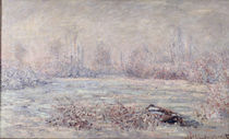 Frost bei Vétheuil by Claude Monet