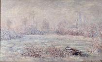 Frost bei Vétheuil von Claude Monet