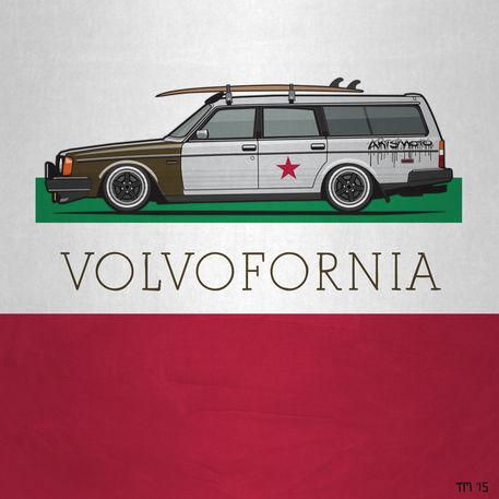 Volvofornia-wagon