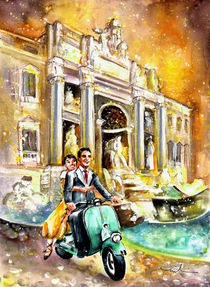 Rome Authentic von Miki de Goodaboom