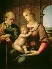Die Heilige Familie von Raffaello Sanzio of Urbino