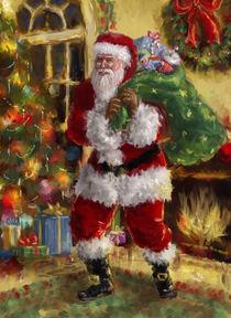 Vintage style Santa Claus by arthousedesign