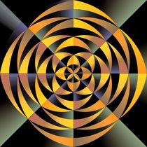 Tigerlike geometric design von Gaspar Avila