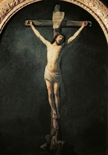 Christus am Kreuz  von Rembrandt Harmenszoon van Rijn
