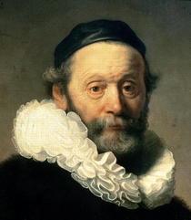 Portrait von Johannes Uyttenbogaert  by Rembrandt Harmenszoon van Rijn