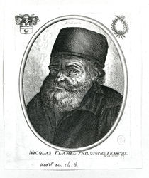 Nicolas Flamel  von Rembrandt Harmenszoon van Rijn