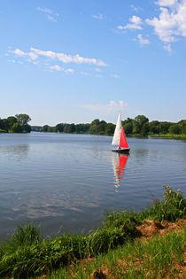 Sommer am See von Bernhard Kaiser