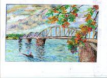 Trang Tien bridge by Mike Tran Minh