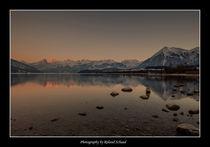 Gipfelglühen von Roland Schaad