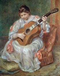 Der Gitarrenspieler by Pierre-Auguste Renoir