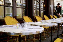Terrace of a Parisian Bistro by Perry  van Munster