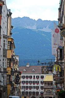 Innsbruck am Morgen... 1 by loewenherz-artwork