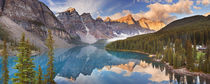 Moraine Lake at sunrise, Banff National Park, Canada by Sara Winter