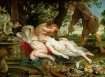 Kimon und Iphigenie by Peter Paul Rubens