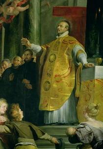 Die Vision des heiligen Ignatius von Loyola  by Peter Paul Rubens