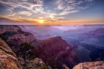 Sunset at Grand Canyon von Daniel Heine