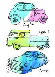 classic cars collection C von Yuki Fujita
