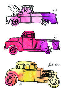 classic cars collection B by Yuki Fujita