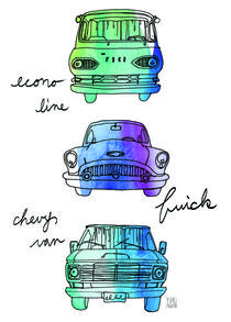 classic cars collection A by Yuki Fujita