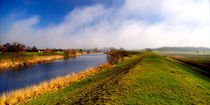 Blick über den Kanal von Rolf Müller